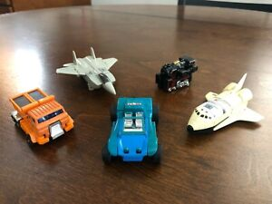 Set of 5 Original GOBOTS from 1983, VERY GOOD CONDITION!