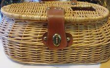 Wicker Fishing Creel Basket