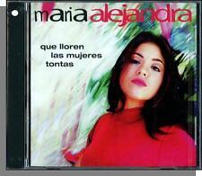 Maria Alejandra - Que Lloren Las Mujeres Tontas - New 1996, Spanish CD!