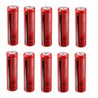 1/4/8/10/20x 18650 3800mAh 3.7V Batterie Li-ion Rechargeable Accu Pile Flashligh