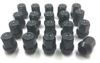 20 x ALLOY WHEEL NUTS BLACK FOR VOLVO V50 M12 X 1.5 60 TAPER BOLTS LUGS STUD (3)
