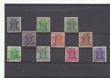 INDIA INDE par sets service postage 1967 1976 used