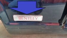 81 to 98 ROLLS ROYCE SILVER SPUR BENTLEY TURBO R RED EMBLEM ON FENDER WING