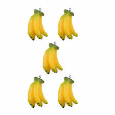 10pcs Yellow Resin Banana Crafts Jewelry Charms Necklace Pendant Making 51568