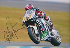 SIGNED Stefan BRADL 12x8 Photo MOTO GP Red Bull Genuine Autograph AFTAL COA