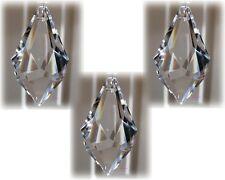 Hanging Crystals Sun Catchers Feng Shui Prism Hanger Crystal 3 x 50mm Flints