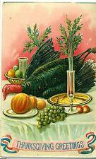 POSTCARD GREETINGS  Thanksgiving
