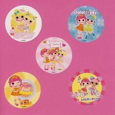 15 Lalaloopsy Sweet - Large Stickers - Party Favors - Rewards