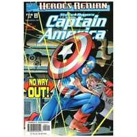 Captain America (1998 series) #2 in Near Mint condition. Marvel comics [*k0]