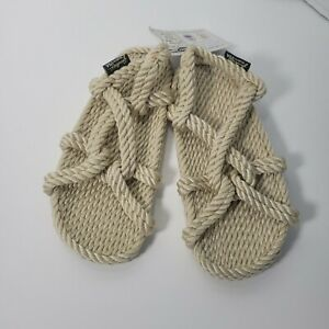 NWT Gurkee's tan womens Size 7 Rope Sandals