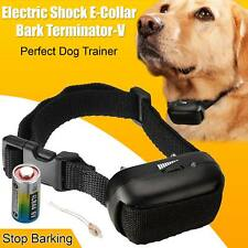 Corteza Anti sin ladrar Choque Eléctrico Vibración Dog Pet Training Collar ePacket Reino Unido