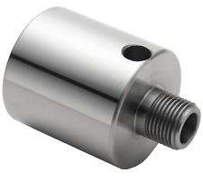 "Record Power CWA122 Thread Adaptor M33 Female to 1"" x 8 TPI Male  RP2000 chuck"