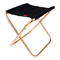 Portable Outdoor Camping Foldable Stool Festival Chair Picnic Seat Fishing