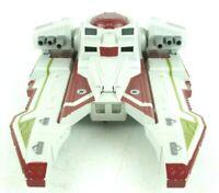 Star Wars Republic Fighter Tank Red The Clone Wars Hasbro 2010 LFL