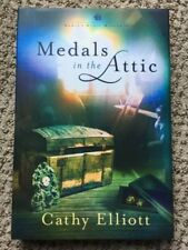 ANNIE'S ATTIC MYSTERIES ~ MEDALS IN THE ATTIC ~ ELLIOT ~ NEW HARDCOVER W DJ