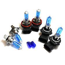 HB3 H7 H11 501 55w Super White Xenon HID High/Low/Fog/Side Light Bulbs