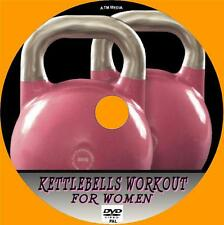 KETTLEBELLS TRAINING FOR WOMEN EASY TO FOLLOW HEALTH AND FITNESS GUIDE NEW  DVD