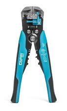 Capri Tools 20012 Self-Adjusting Wire Stripper Cable Cutter Crimping Tool