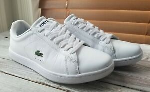 Lacoste Shoes Boys youth size 5 White