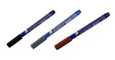 Mr. Hobby Gundam Marker Pen GM01 GM02 GM03 Fine Tip for Panel Line For Model Kit