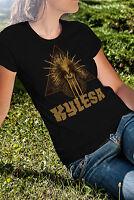 Kylesa Women Black T-Shirt Death Metal Band Lady Tee Shirt
