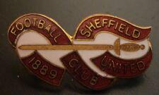Sheffield United Football Club Brooch Pin Badge Maker Reeves