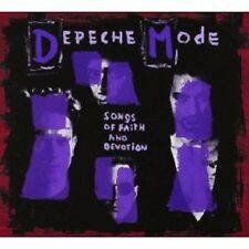 "DEPECHE MODE ""SONGS OF FAITH AND DEVOTION"" CD +DVD NEU"
