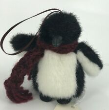 Boyds Penguin Plush Ornament-Chilly Frostbite Plush Stuffed Toy