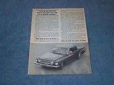 "1962 Dodge Dart 440 Vintage Ad ""It's An Amazing Machine"""