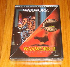 Brand New Sealed Waxwork / Waxwork II Lost In Time Double Feature DVD