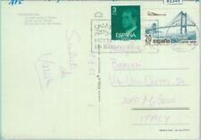 85349 - MOROCCO - Postal History - SPANISH STAMPS on Postcard to ITALY 1982