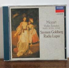 MOZART sonates pour violon K481 K526 K547 – Goldberg Lupu – DECCA – 425 420-2