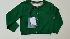 New Burberry Baby Green Cardigan Mini Kiki Size 9M (25225)