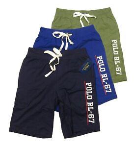 Polo Ralph Lauren Men's POLO RL-67 Logo Print Cotton Sleep Shorts
