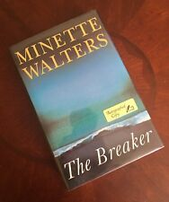 1998 THE BREAKER - Minette Walters - HC/DJ - SIGNED