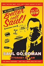 Better Call Saul Poster-Saul Attorney at Law-Breaking Bad Prequel TV poster