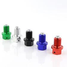 Magnetic Oil Drain Plug Bolt For Honda FMX650 FT500 GB500 GL500 GL650D GROM Blue