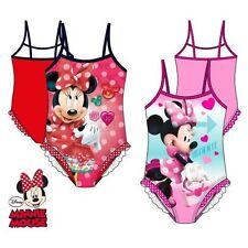 Maillot de bain 1 pièce Minnie Disney Rouge 8 ans
