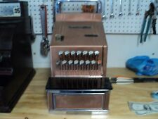 Neat, Vintage, National Cash Register with Key - Model #4155 - 1950's