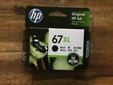 Genuine HP 67XL Black High Yield Inkjet Cartridge (3YM57AA) 240 Pages