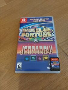 America's Greatest Game Shows Wheel Of Fortune & Jeopardy Nintendo Switch
