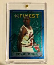 New listing 95-96 Topps Finest #229 Michael Jordan Chicago Bulls with Protective Coating