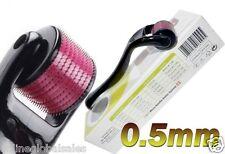540 Needles Micro Needle Derma Skin Roller Black 0.5mm Wrinkles, Anti-aging
