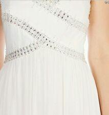COAST * * ARABELLA ** IVORY BRIDESMAIDS WEDDING DRESS SIZE 18 NEW WITH TAGS