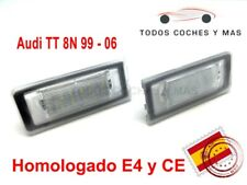 PLAFONES LED MATRICULA AUDI TT 8N 99 - 2006 HOMOLGADO E4 CE LUCES LUZ ENVIO 24H