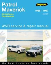 NEW GREGORYS REPAIR MANUAL NISSAN PATROL GQ MAVERICK DA