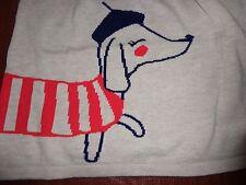 NWT Gymboree Mod About Orange sweater dress parisian pup 4t 4 dog puppy winter