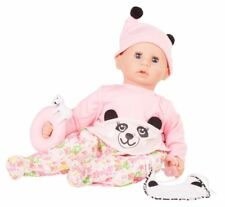 Götz Puppe Cookie Happy Panda Pink 48 cm 1761047 Blaue Augen Babypuppe
