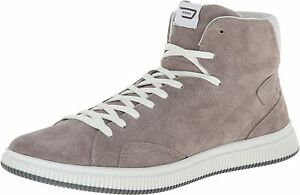 Diesel Men's SPRAWL Casual Athletic Taupe Leather/Suede Shoe Sneakers US 12M
