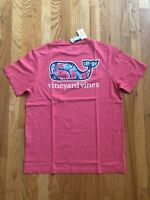 NWT Men's Vineyard Vines Shell Crab Fill Whale Pocket T-Shirt S, M, L, XL Or XXL
